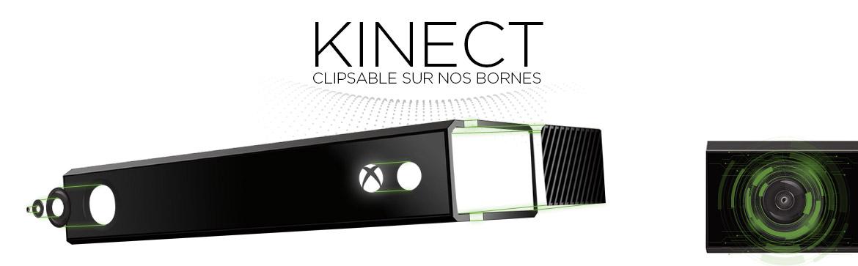 Kinect - Borne interactive sur mesure